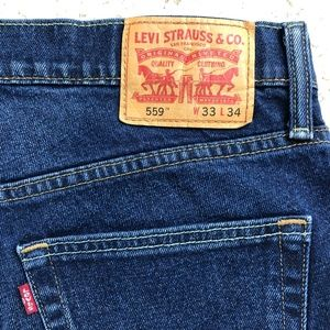 Levi's 559 relaxed straight fit jean 33x34
